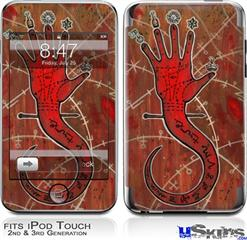 iPod Touch 2G & 3G Skin - Red Right Hand