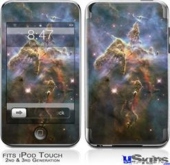 iPod Touch 2G & 3G Skin - Hubble Images - Mystic Mountain Nebulae