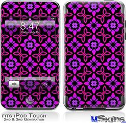 iPod Touch 2G & 3G Skin - Pink Floral
