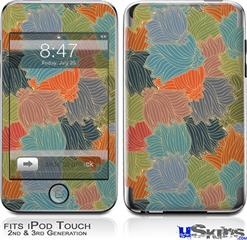 iPod Touch 2G & 3G Skin - Flowers Pattern 03