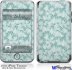 iPod Touch 2G & 3G Skin - Flowers Pattern 09