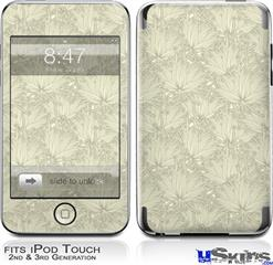 iPod Touch 2G & 3G Skin - Flowers Pattern 11
