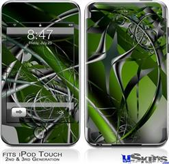 iPod Touch 2G & 3G Skin - Haphazard Connectivity