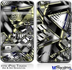 iPod Touch 2G & 3G Skin - Like Clockwork