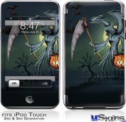 iPod Touch 2G & 3G Skin - Halloween Reaper