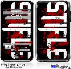 iPod Touch 2G & 3G Skin - Stifle