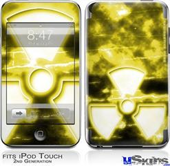 iPod Touch 2G & 3G Skin - RadioActive Yellow