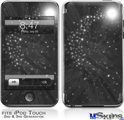 iPod Touch 2G & 3G Skin - Stardust Black