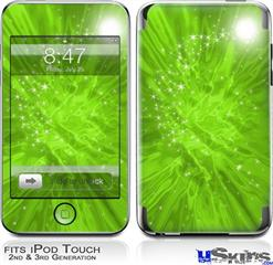 iPod Touch 2G & 3G Skin - Stardust Green