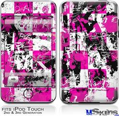 iPod Touch 2G & 3G Skin - Pink Graffiti